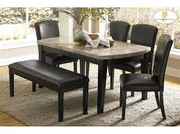 Homelegance Dining Room Furniture Dining Room Table Set With Bench