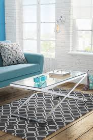 Chrome And Glass Coffee Table Anikka Coffee Table Chrome And Glass Coffee Table My Furniture