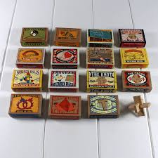 matchbox puzzles wedding favours by nest notonthehighstreet com