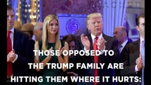The Trump Family by Inside The Grabyourwallet Trump Boycott Racked