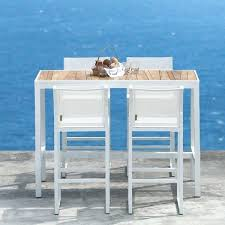 outdoor bar height table and chairs set outside bistro table teak outdoor bistro table bar height table