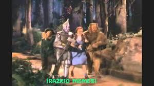 Wizard Of Oz Meme - razkid meme wizard of oz remix youtube