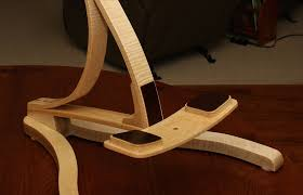 bent form guitar stand by matt nudi lumberjocks