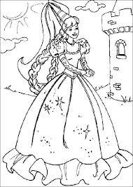 http www coloringplanet images barbie barbie castle jpg