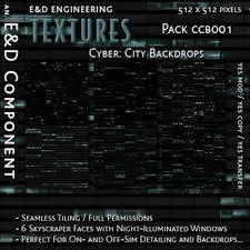 cityscape backdrop second marketplace ccb001 6 glass skyscraper