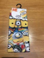 Minion Socks Adults Women U0027s Polyester Socks Ebay