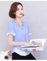 blouse wanita jual blouse kerja wanita import korea online moro fashion