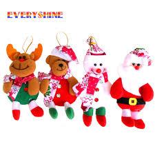 2017 merry santa claus elk snowman tree ornaments