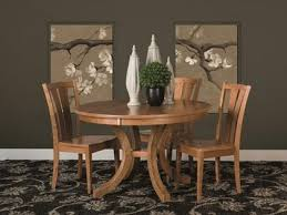 Pedestal Tables And Chairs Dining Tables