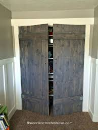 Build Closet Door Barn Wood Closet Doors Hometalk