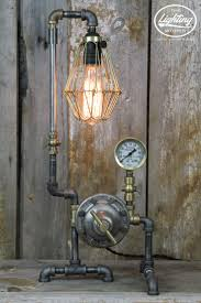 601 best lamps images on pinterest steampunk lamp pipe lamp and