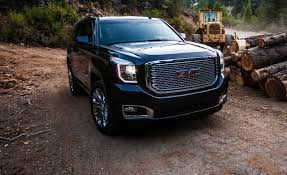 gmc jeep competitor 2015 gmc yukon denali 4x4 tested u2013 review u2013 car and driver