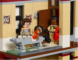 lego ghostbusters firehouse images go inside hq collider