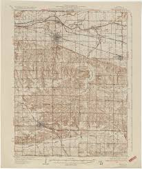 Dupage County Map Illinois Historical Topographic Maps Perry Castañeda Map
