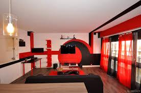 deco cuisine noir et gris deco salon et noir affordable stunning deco salon noir avec