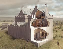 Castle Plans by 52 Best Building Models And Cutaway Images Images On Pinterest