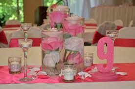 Centerpieces With Candles For Wedding Receptions by Kimberly Lace Home