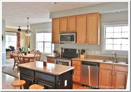 grey kitchen walls with light wood cabinets comfort gray kitchen sand and sisal grey kitchen walls