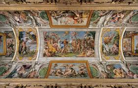 Baroque Ceiling by Carracci U0027s Loves Of The Gods Cycle At Franese Gallery Barrel