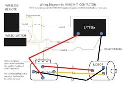 wiring diagram for 12 volt winch relay powerking co