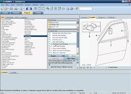 Auto Collision Repair Estimate by Auto Estimating Software Mitchell Estimating Ultramate
