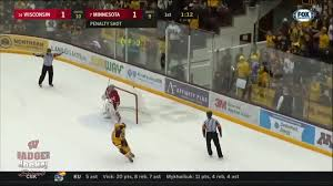 bentley college hockey men u0027s hockey wisconsin athletics hayton named to mike richter