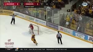 bentley college hockey men u0027s hockey wisconsin athletics hayton named to mike richter