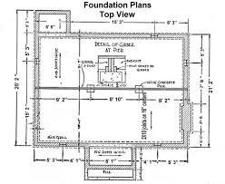 Foundation Floor Plan   foundation plan foundation details pinterest civil engineering