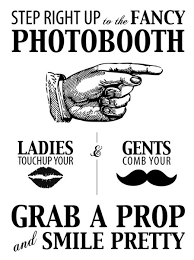 wedding signs template strike a pose photo booth cheese and westerns