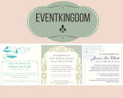 Funeral Service Announcement Wording 29 Best Funeral Reception Invitations Images On Pinterest