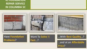 Basement Foundation Repair by Foundation Repair Columbia Sc Youtube