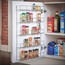 Wall Mount Spice Rack With Jars Kitchen Awesome Best Jars For Storing Spices Carousel Spice