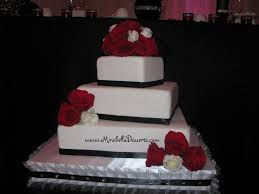 simple square tier wedding cake diy wedding u2022 56054