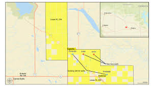 Map Of Canada Showing Calgary by Gensource Announces Kick Off Of A Two Well Drilling Program For