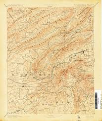 Virginia Map by