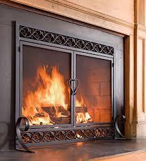 Air Tight Fireplace Doors by Fireplace Doors Amazon Com
