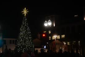 vacaville tree lighting 2017 festive tree glows shines light on downtown fairfield businesses