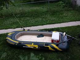 Jon Boat Floor Plans by Wooden Floor For A Seahawk 4 Fishing Raft 6 Steps