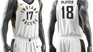 jersey design indiana pacers indiana pacers unveil new uniforms for 2017 18
