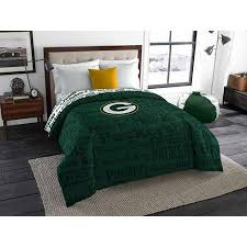 Green Bay Packers Bedroom Ideas Amazon Com Nfl Green Bay Packers Twin Full Bedding Comforter
