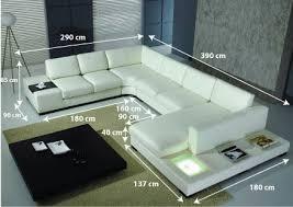 canapé cuir blanc design canapé design denver un magnifique canapé cuir d angle panoramique