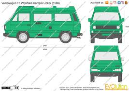 volkswagen westfalia camper the blueprints com vector drawing volkswagen t3 westfalia