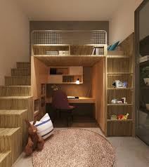 chambre ado moderne chambre ado idée chambre ado garçon lit bureau avec escalier en