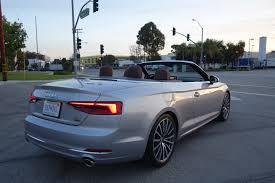 audi cabriolet convertible three things we about the 2018 audi a5 cabriolet 2 0t quattro