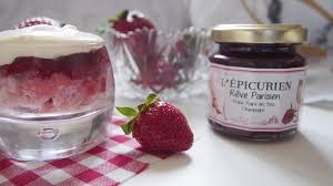 epicurien recettes de cuisine fraises des bois et chagne dessert so chic avec l épicurien