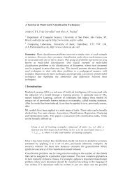 a tutorial on multi label classification techniques pdf download