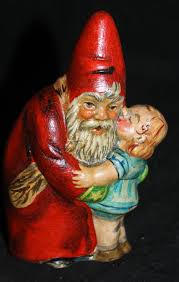 344 best chalkware santas and belsnickles images on