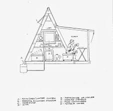 a frame house plans with loft 110 sq ft transforming a frame cabin built for 1k