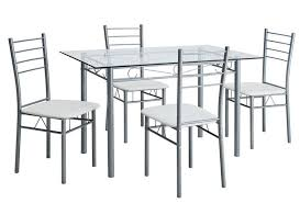 stainless steel table and chairs stainless steel dining table set purplebirdblog com