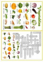 english teaching worksheets vegetables english for kids